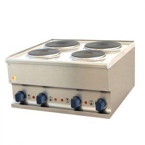 Električni štednjak sa 4 ploče 600x600x310mm