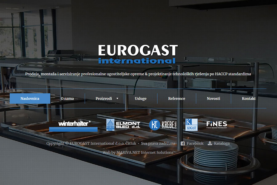 Nove web stranice www.eurogast.ba