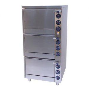 Električna troetažna peć 800x875x1690mm