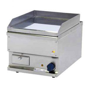 Električni roštilj ravna ploča tvrdi krom 400x600x310mm